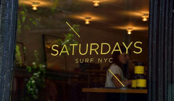 【SATURDAYS SURF NYC,】