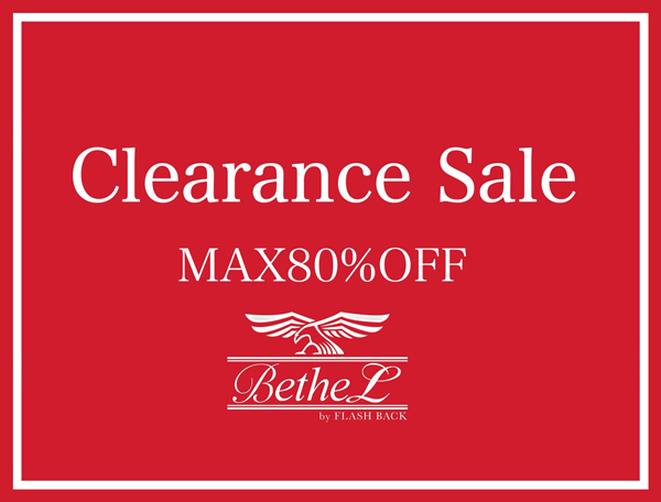 【CLEARANCE SALE開幕!!,】