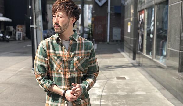 【春コーデに効くシャツ,】