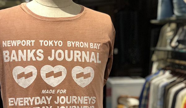 "【New Brand ""BANKS JOURNAL""】"