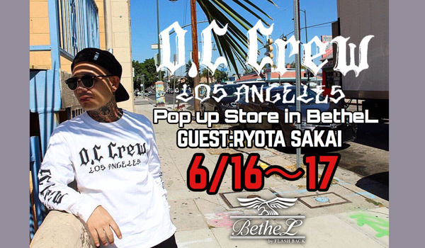 【O.C CREW POP UP STORE in BetheL,】