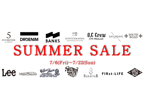 【BetheL SUMMER SALE告知!!,】